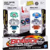 Beyblade Duplo Metal Masters Aqua Sword Strike Origin Hasbro
