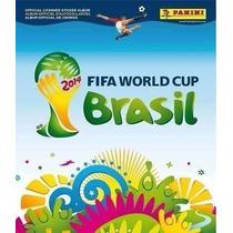 Lote 200 Figurinhas Sem Repetição + Álbum Copa Do Mundo 2014
