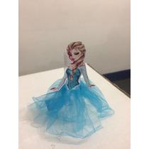 10 Tubete Com Saia De Tule Frozen, Princesas,branca De Neve