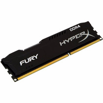 Memória Kingston 8gb Ddr4 2400mhz Hyperx Fury Gamer 12x S/j