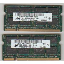 Memoria Note 2gb Ddr2 Pc2 6400s Micron Positivo Sim+ 1079