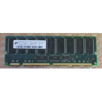 Memoria Micron 512mb Pc133r Ecc 133mhz Dimm Cl3 P/ Servidor