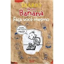 Livro O Diário De Um Banana - Faça Você Mesmo - Jeff Kinney