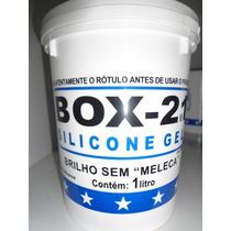Silicone Gel Box 21 Para Carros Plásticos E Couro 1 Litro