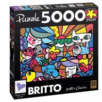 Quebra Cabeça Romero Britto - Brito's Garden 5000 Peças