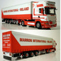 Wsi Scania R Topline 4x2 Curtain Side Trailer 3 Axle 1:50