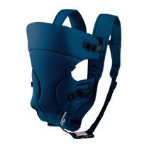 Bolsa Canguru Para Bebe Até 3 Posições + Frete Bb004 Azul