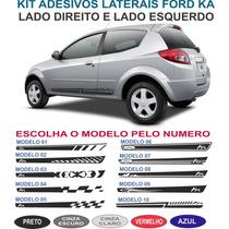 Acessorios Faixa Lateral Ford Ka G2 Adesivo Kit