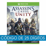 Jogo Assassin's Creed Unity Xbox One Código 25 Digitos