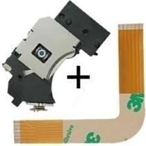 Kit Leitor Óptico + Flat L Playstation 2 Slim Ps2 7xxxx