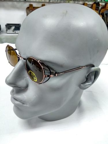 521f958b9 Óculos Solar Vintage Retro Com Proteção Lateral