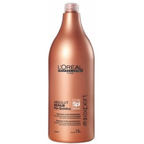 Shampoo Loreal Absolut Repair Pós Química Spirulin 1500ml