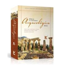 Bíblia De Estudo Arqueológica Ilustrada Capa Dura