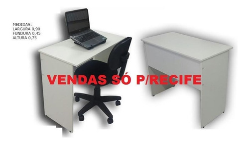 Mesa Madeira Color 90cm (novo) Vendas Só Para Recife