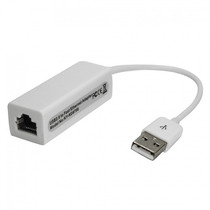 Placa De Rede Usb 10/100 Rj45 Adaptador Lan Ethernet Pc Note