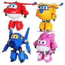 Super Wings Mini Aviões Discovery Kids Unidade Frete Grátis