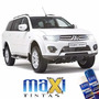 Tinta Spray Automotiva Mitsubishi Branco Alpino + Verniz