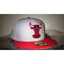 Boné Chicago Bulls Nba New Era Cinza 7 1/2