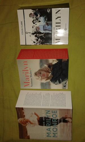 3 Livros De Marilyn Monroe. Últimos Anos/minha Semana. L19