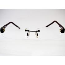 Armação Para Óculos Playboy Sem Aro Balgriff Preta