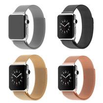 Pulseira Milanese Aço Loop Metal Para Apple Watch 1 2 3 4
