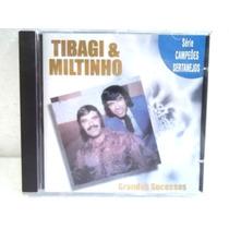 Tibagi E Miltinho Grandes Sucessos Cd Original Ótimo Estado