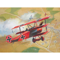 Modelo Plane - Revell 1:72 Set Fokker Dr. 1 Tri Kit Set