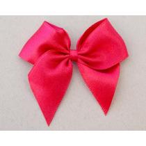 Laço/lacinho Cetim 6 Cm - Rosa Pink -10 Peças D39 Lembran