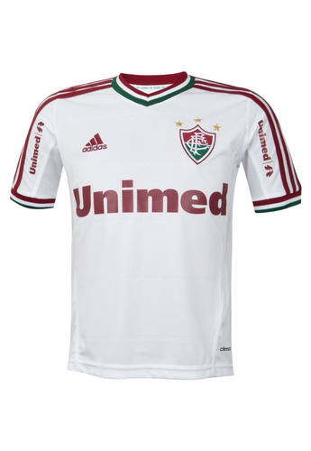 77cee12743 Camisa adidas Fluminense Ii 2014 Infantil Tam. 10 - 12 - 14