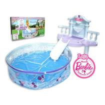 Piscina Para Casa De Boneca Barbie - Monster High