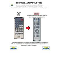 Controle Para Tv Automotiva Nell Tvd100 Fbt1570