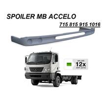 Spoiler Parachoque Caminhão Mb Accelo 715 815 915 1016 Fibra