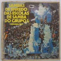 Lp Sambas De Enredo 77 - Grupo 1a - Top Tape