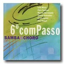 Cd 6 Com Passo Samba & Choro (digipack)