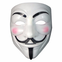 Máscara Filme V De Vingança Anonymous Vendetta Guy Fawkes