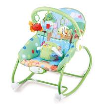 Cadeira Cadeirinha Bebê Descanso Vibratória Musical Baby Sty