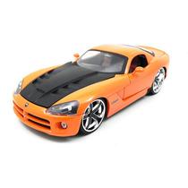 Dodge Viper Srt10 2008 1:24 Jada Toys Laranja