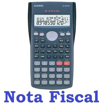 Calculadora Científica Casio Fx-82ms Original Nota Fiscal