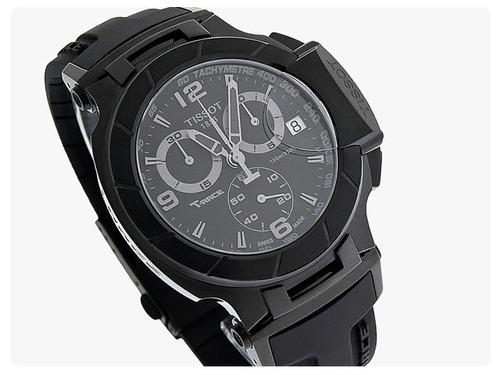 41c0fd50210 Relogio Tissot T Race T0484173705700 Moto Gp Black Original. Preço  R  1789  Veja MercadoLibre