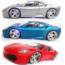3 Carrinhos De Controle Remoto Ferrari C/ Neon