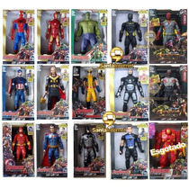 Boneco Vingadores Marvel 30 Cm Luz E Som Barato (unitário)