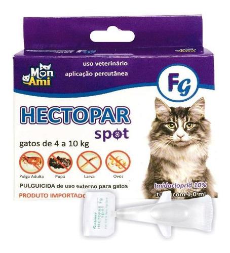 Antipulgas Hectopar Gatos 1,0ml Mon Ami