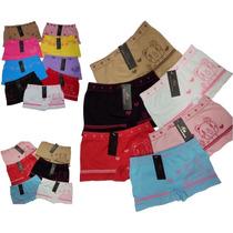 108b7cb57a02aa Kit 10 Calcinha Box Shortinho Boxer Cueca Infantil Feminina* à venda ...
