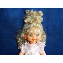 Boneca Antiga Estrela Loira Olhos Pintados 40cm Altura Usada