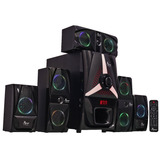 Home Theater 5.1 Bluetooth Pendriv Sd Card Surround 125w Rms