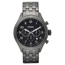 Relógio Fossil Bq 1029 - Pulseira De Aço Cronógrafo-original