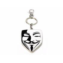 Chaveiro V For Vendetta V De Vingança Máscara Sd Toys 91321