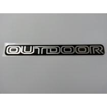 Adesivo Resinado Outdoor L200 Gls Hpe Mitsubishi