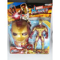 Brinquedo Boneco Marvel 25 Cm Homem De Ferro Capitão América