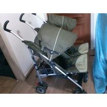 Carrinho De Bebê Para Gêmeos Burigotto Duetto